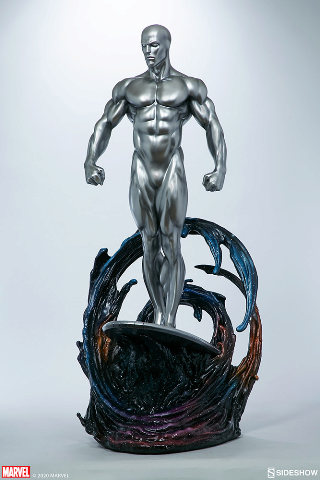 Silver Surfer Maquette Sides159