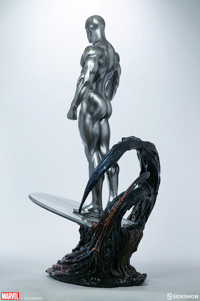 Silver Surfer Maquette Sides160