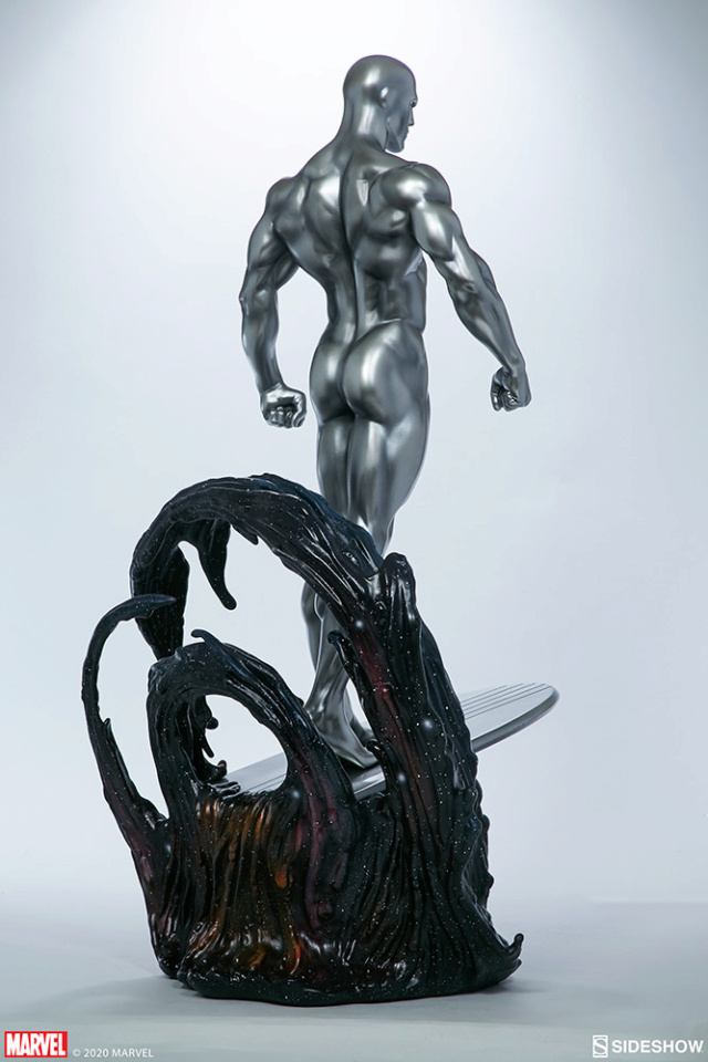 Silver Surfer Maquette Sides161