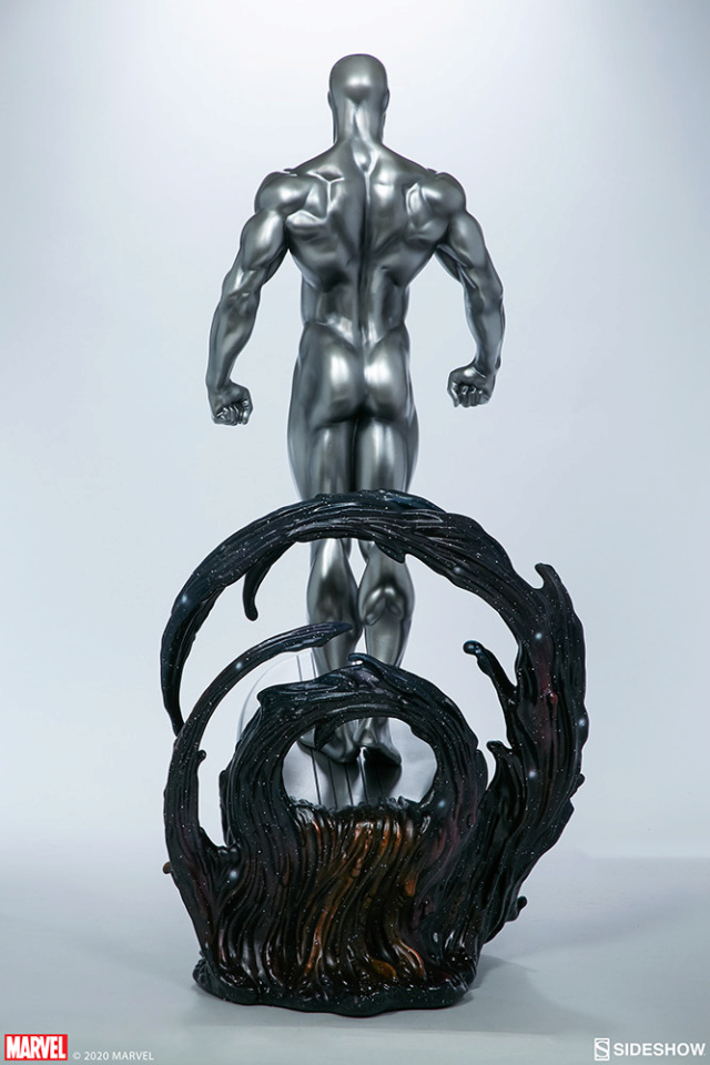 Silver Surfer Maquette Sides162