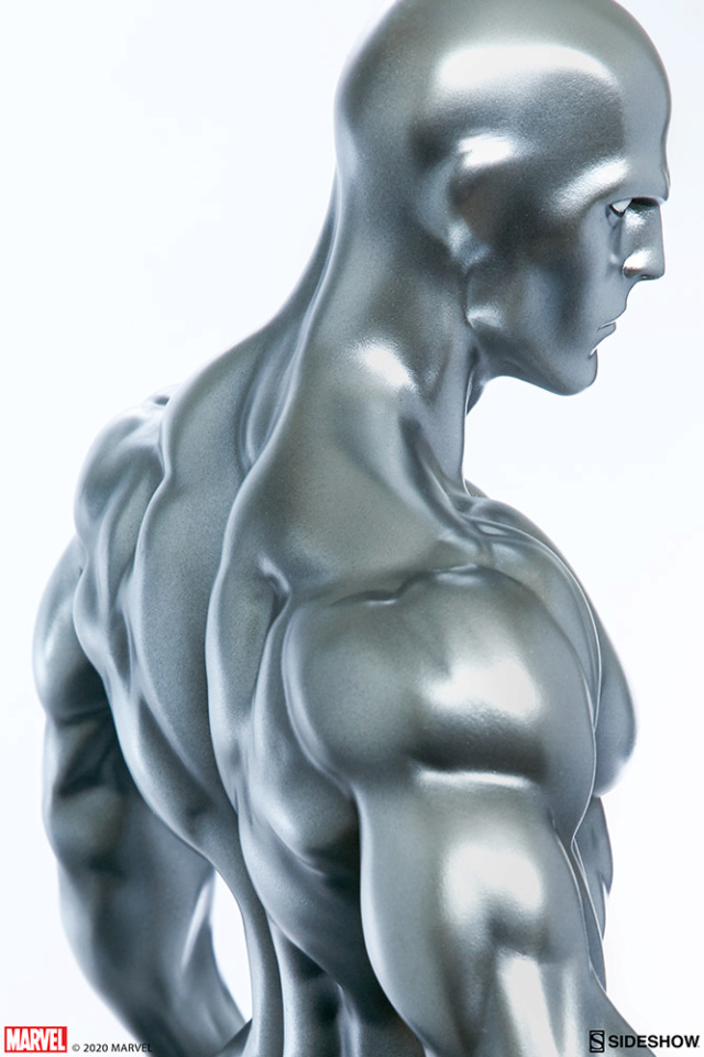 Silver Surfer Maquette Sides163