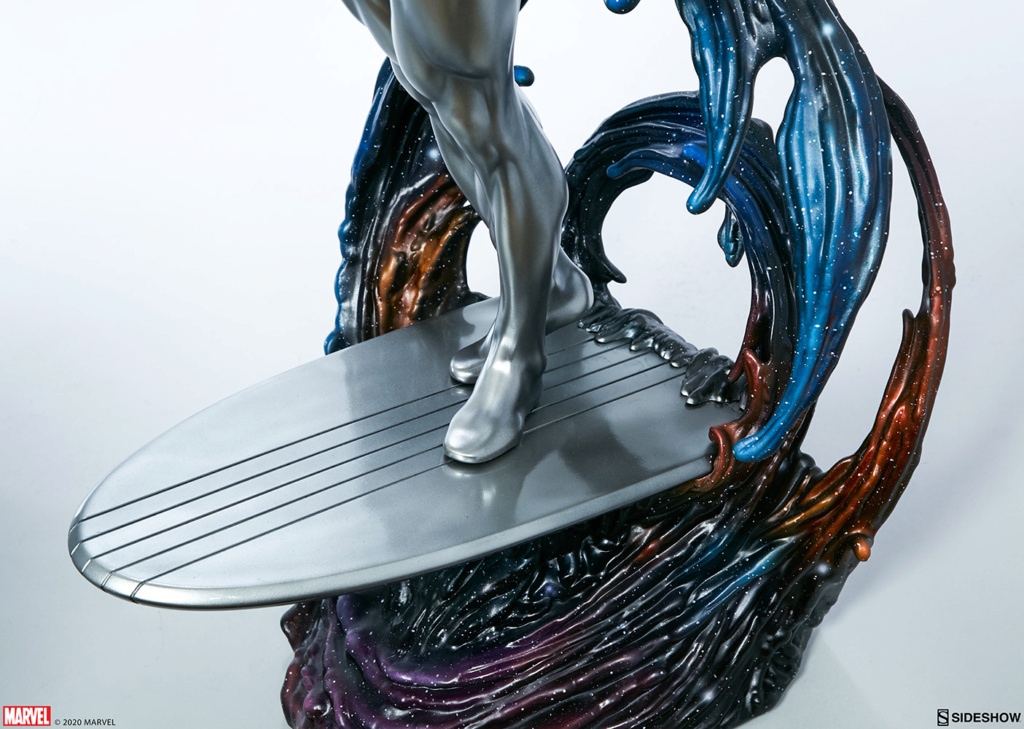 Silver Surfer Maquette Sides164