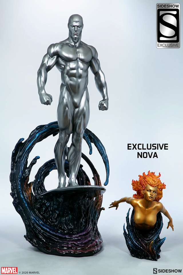 Silver Surfer Maquette Sides169