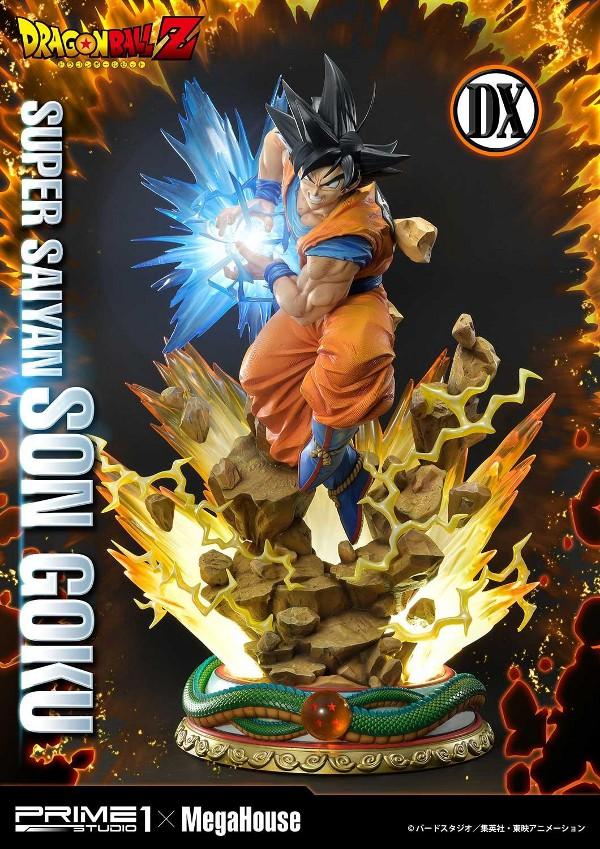 SUPER SAIYAN SON GOKU 1/4 scale statue Deluxe Son_go10