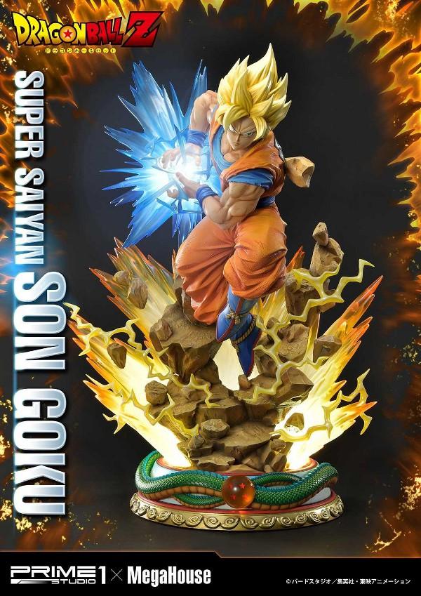 SUPER SAIYAN SON GOKU 1/4 scale statue Deluxe Son_go11