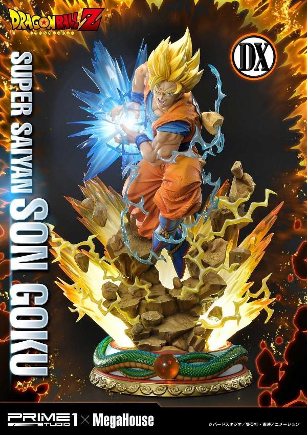SUPER SAIYAN SON GOKU 1/4 scale statue Deluxe Son_go12