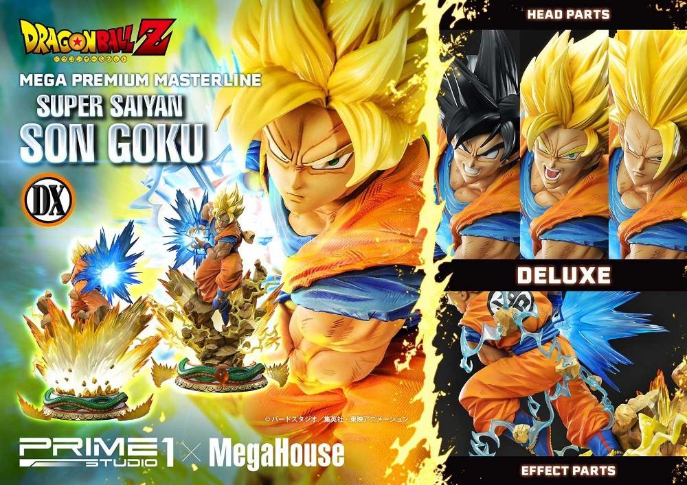 SUPER SAIYAN SON GOKU 1/4 scale statue Deluxe Son_go14