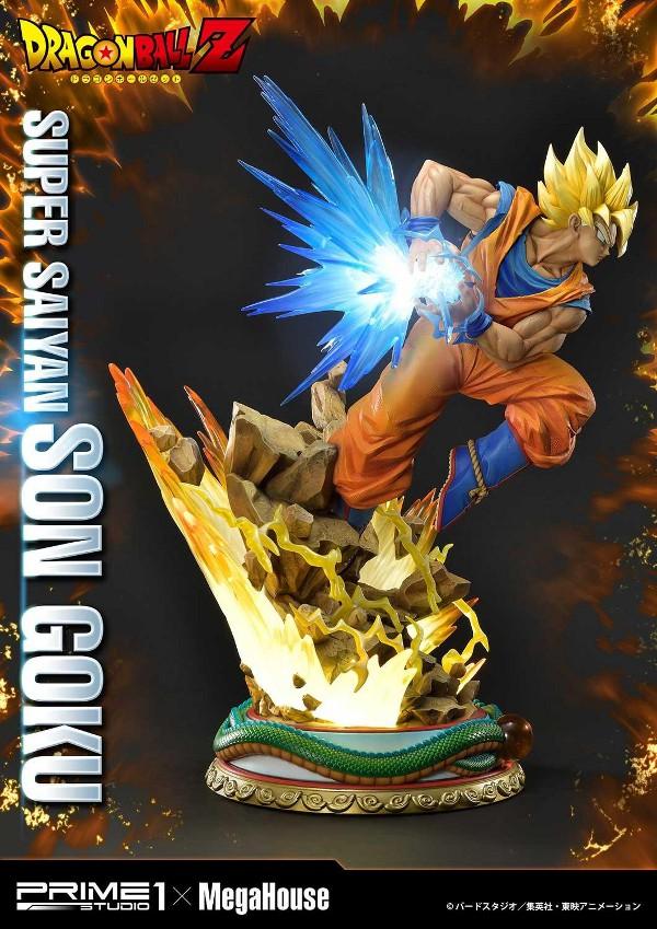 SUPER SAIYAN SON GOKU 1/4 scale statue Deluxe Son_go15