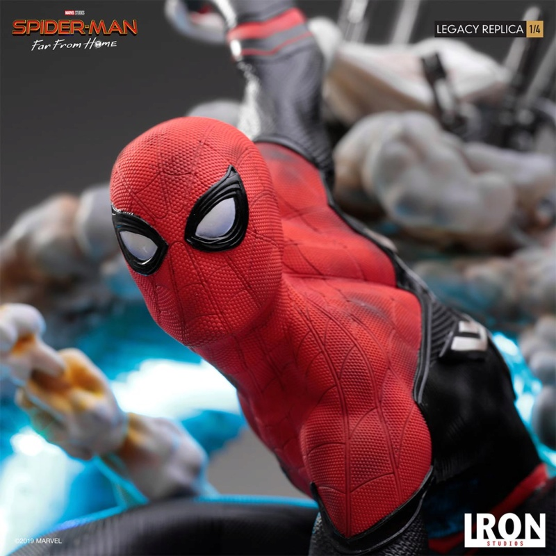 IRON STUDIOS : Spider-Man: Far From Home – 1/4 Scale Spider-Man Legacy Replica Statue Spider68