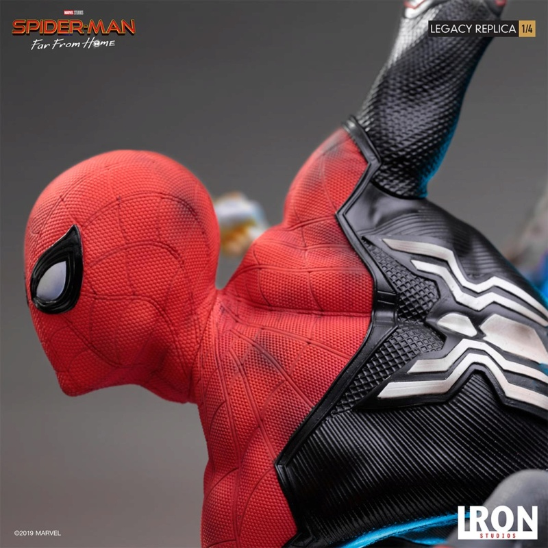 IRON STUDIOS : Spider-Man: Far From Home – 1/4 Scale Spider-Man Legacy Replica Statue Spider69