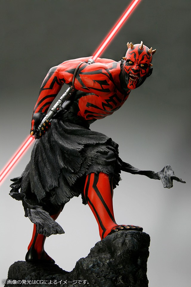 STAR WARS : DARTH MAUL Japanese Ukiyo-e artist ARTFX 1/7 statue Star_w10