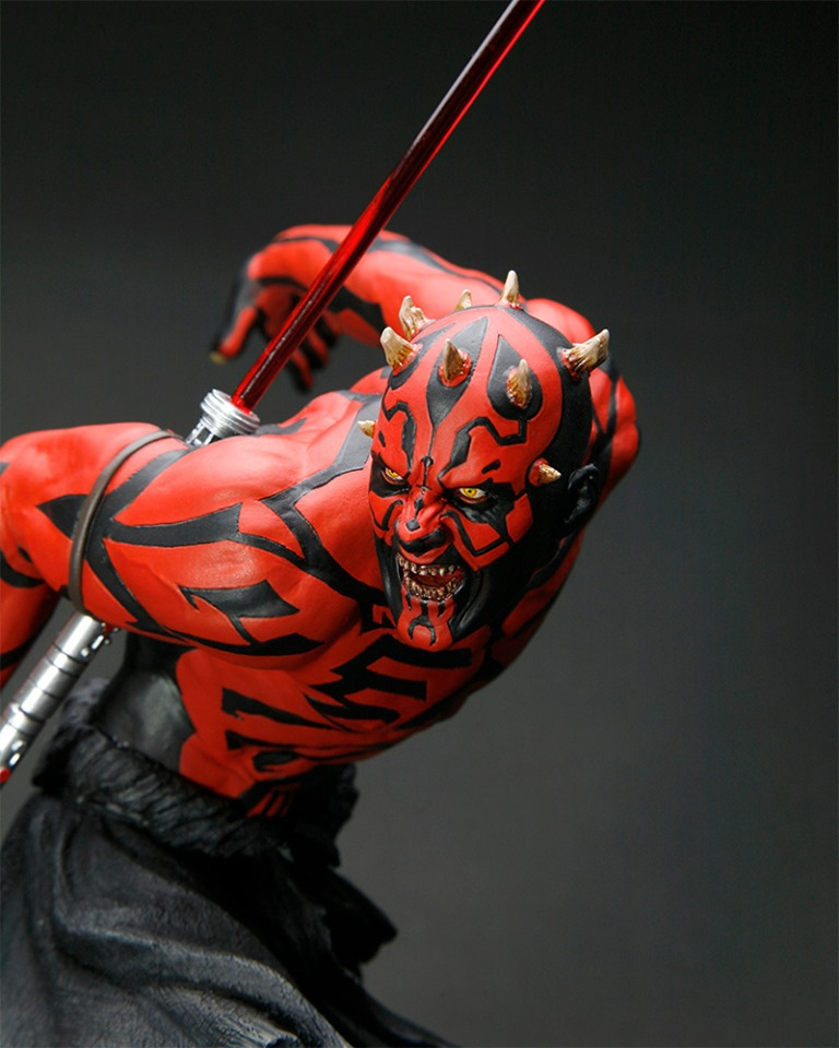 STAR WARS : DARTH MAUL Japanese Ukiyo-e artist ARTFX 1/7 statue Star_w11