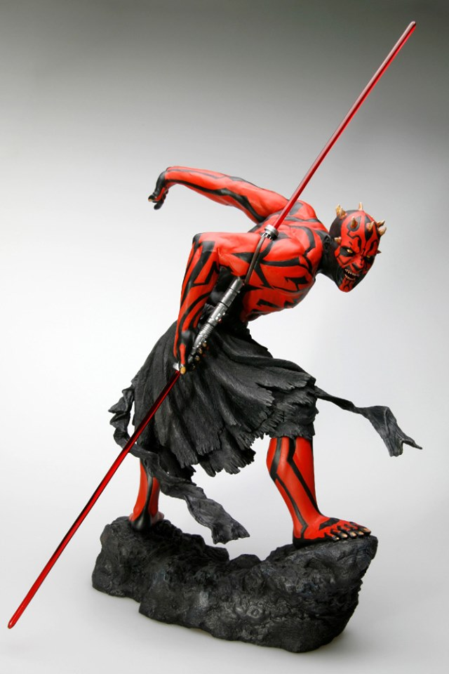 STAR WARS : DARTH MAUL Japanese Ukiyo-e artist ARTFX 1/7 statue Star_w12