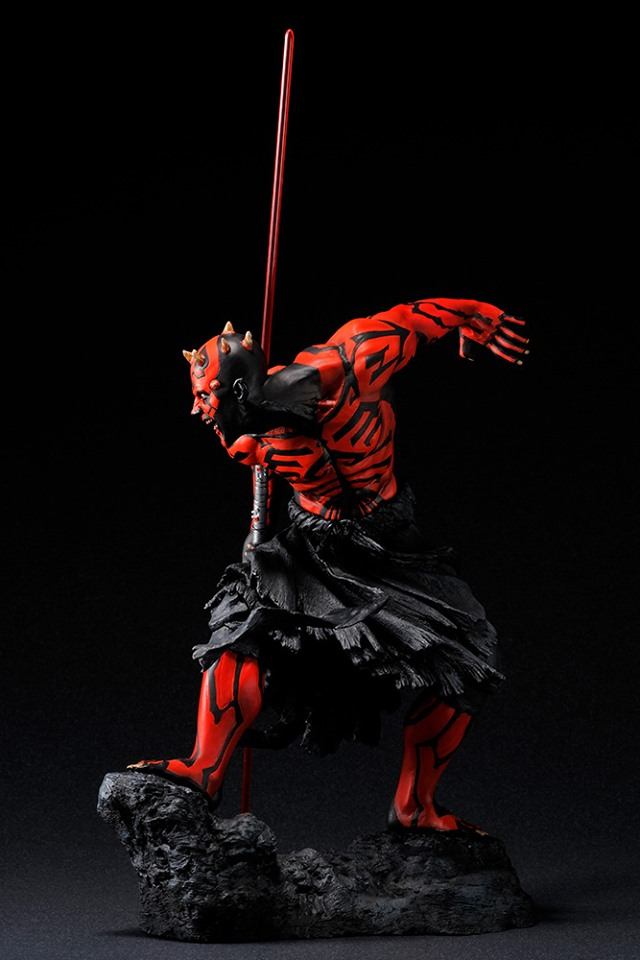 STAR WARS : DARTH MAUL Japanese Ukiyo-e artist ARTFX 1/7 statue Star_w15