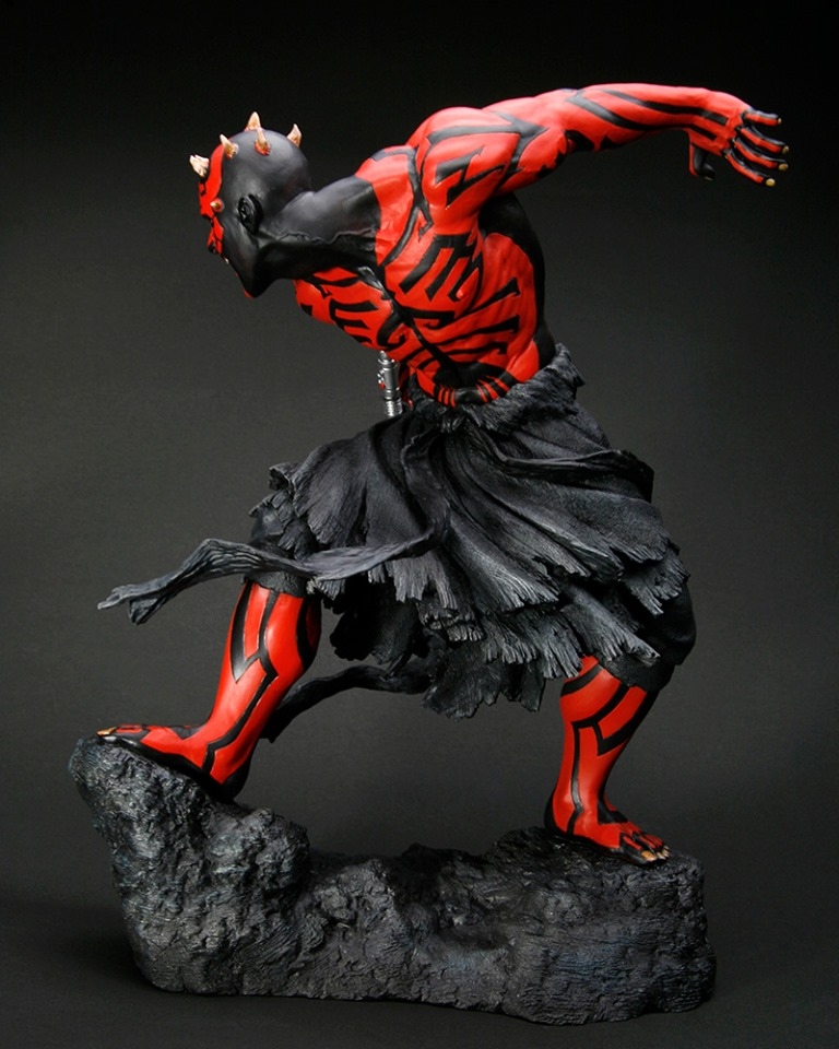 STAR WARS : DARTH MAUL Japanese Ukiyo-e artist ARTFX 1/7 statue Star_w16