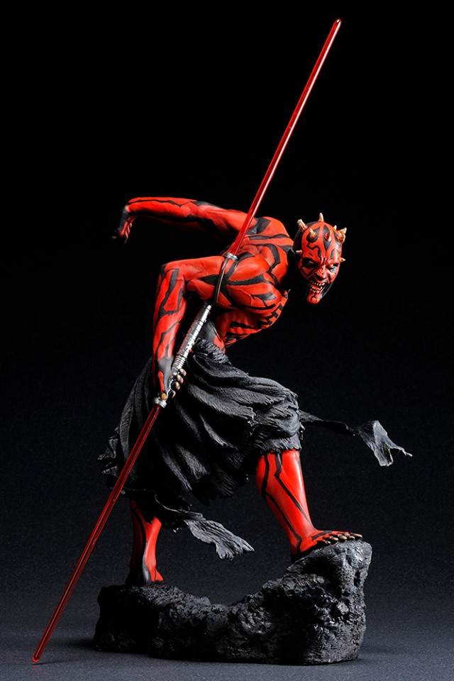 STAR WARS : DARTH MAUL Japanese Ukiyo-e artist ARTFX 1/7 statue Star_w17