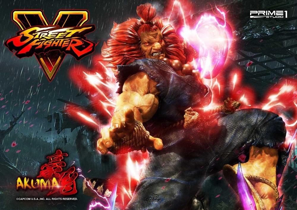 Street Fighter V – Akuma 1/4 scale Statue Street10