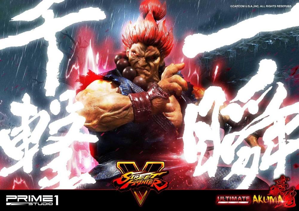 Street Fighter V – Akuma 1/4 scale Statue Street11