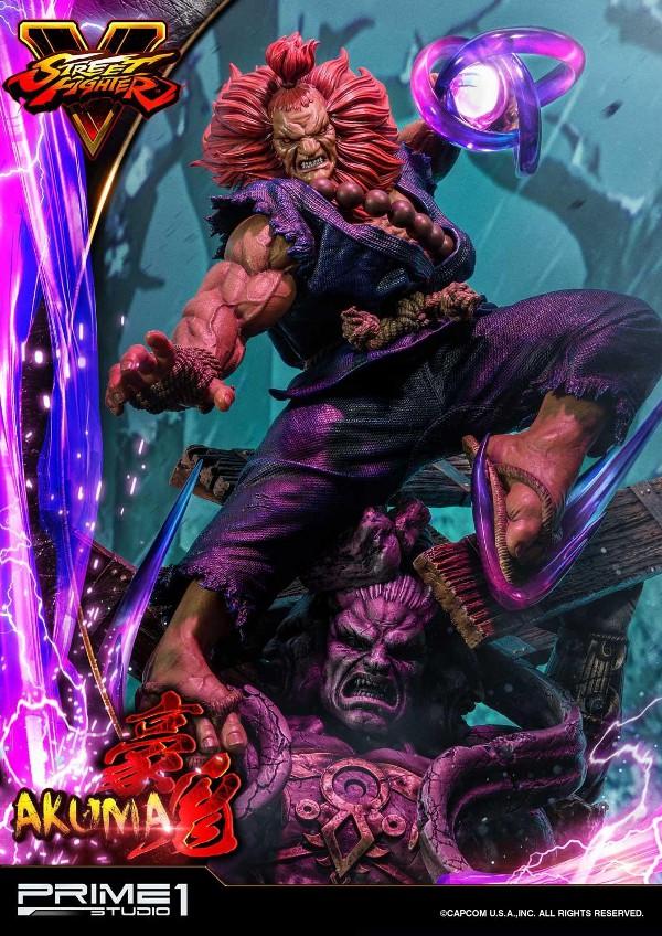Street Fighter V – Akuma 1/4 scale Statue Street12