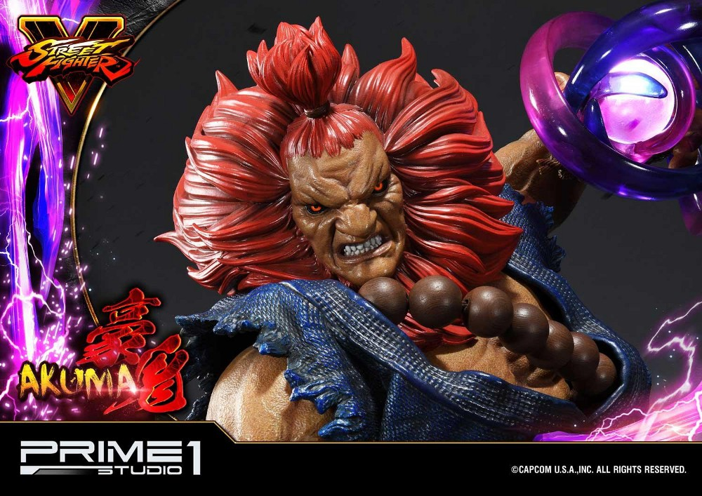 Street Fighter V – Akuma 1/4 scale Statue Street13