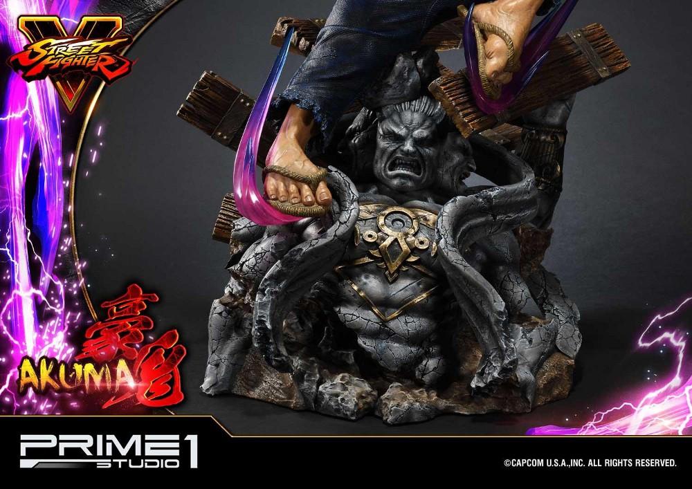 Street Fighter V – Akuma 1/4 scale Statue Street14