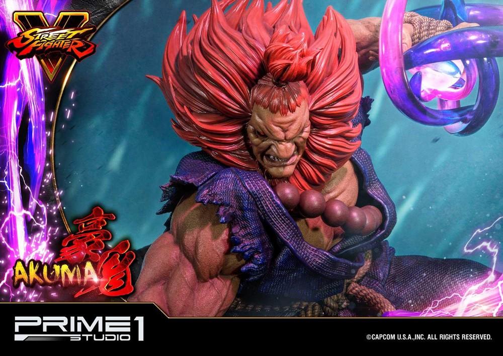 Street Fighter V – Akuma 1/4 scale Statue Street15