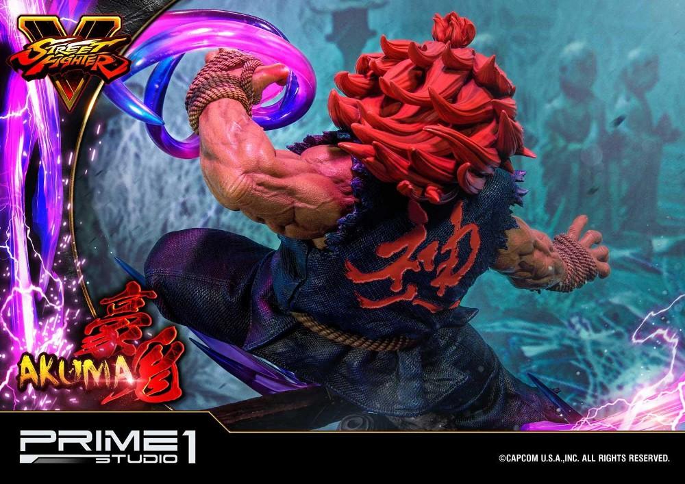 Street Fighter V – Akuma 1/4 scale Statue Street16