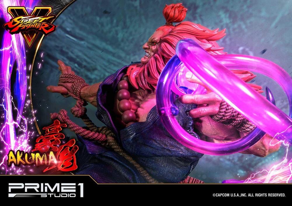 Street Fighter V – Akuma 1/4 scale Statue Street17