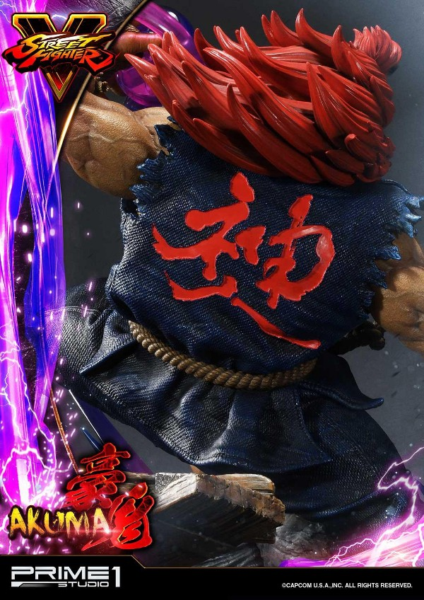 Street Fighter V – Akuma 1/4 scale Statue Street18