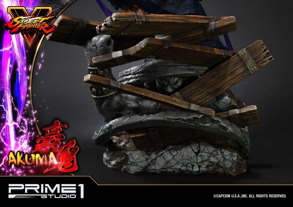 Street Fighter V – Akuma 1/4 scale Statue Street19