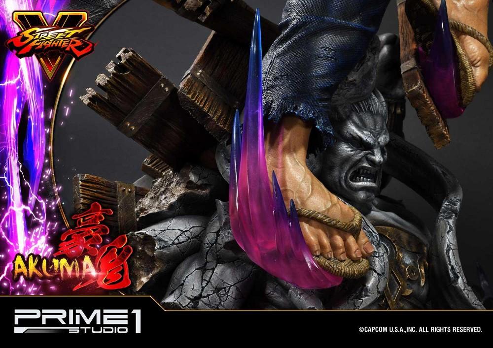Street Fighter V – Akuma 1/4 scale Statue Street20