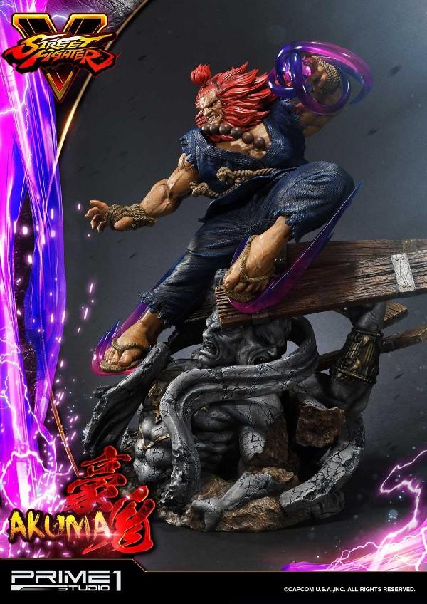 Street Fighter V – Akuma 1/4 scale Statue Street21