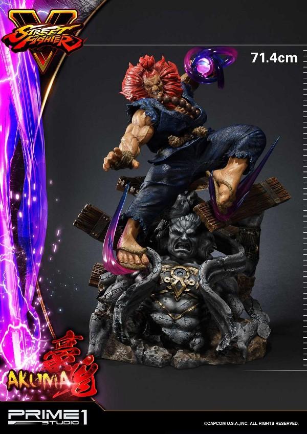 Street Fighter V – Akuma 1/4 scale Statue Street22