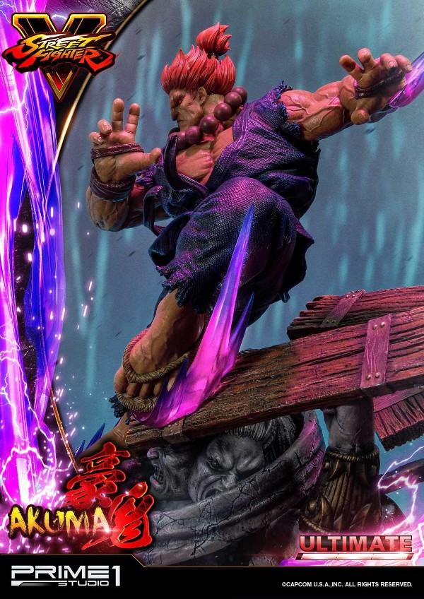 Street Fighter V – Akuma 1/4 scale Statue Street23