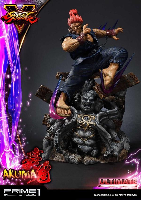 Street Fighter V – Akuma 1/4 scale Statue Street24