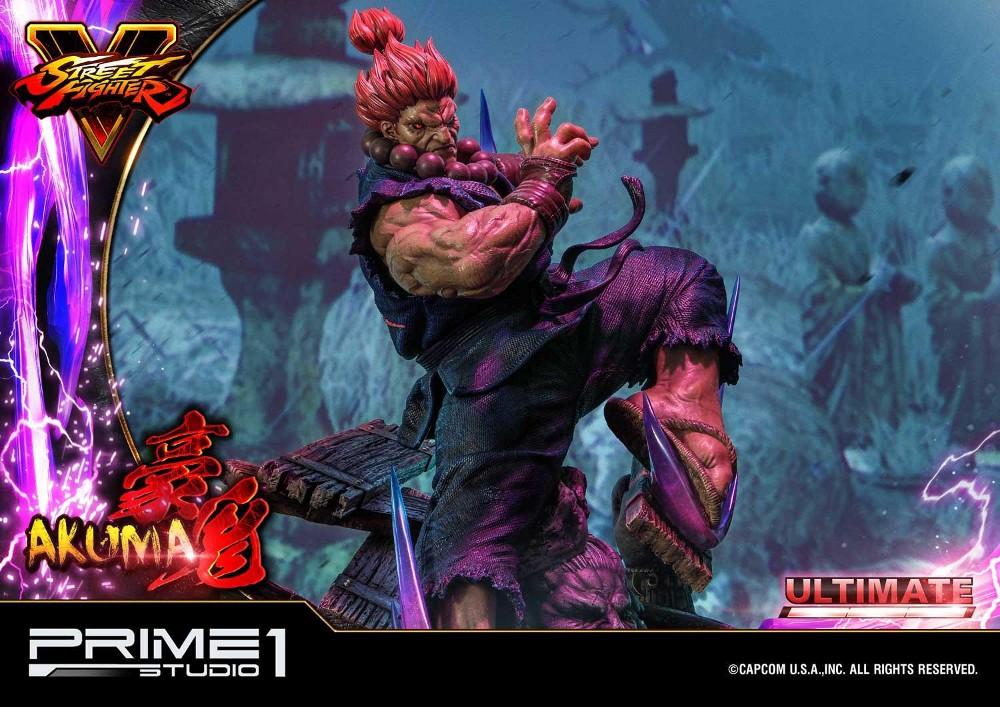 Street Fighter V – Akuma 1/4 scale Statue Street25