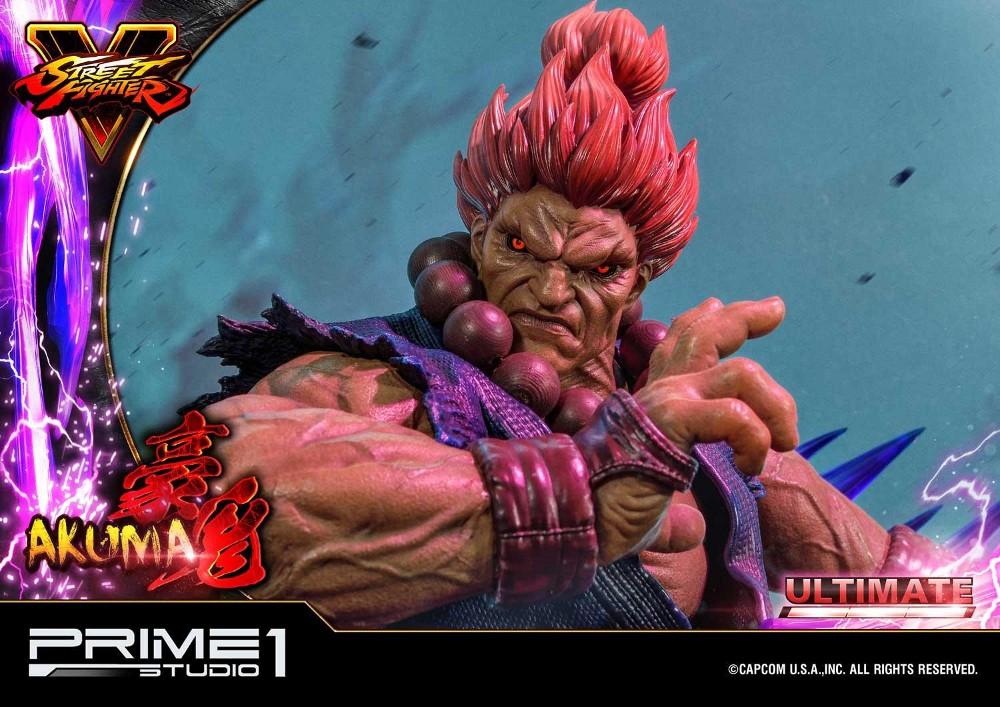 Street Fighter V – Akuma 1/4 scale Statue Street26
