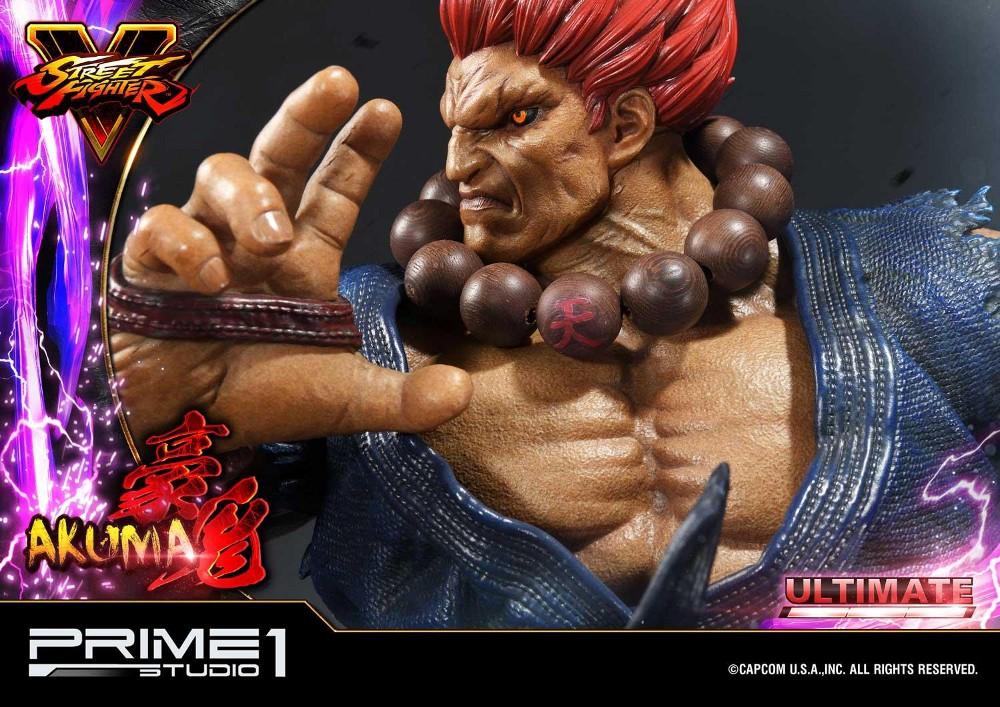 Street Fighter V – Akuma 1/4 scale Statue Street27