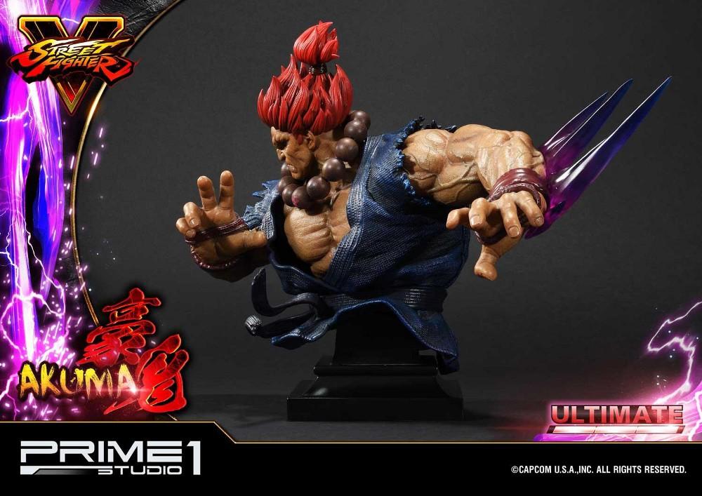 Street Fighter V – Akuma 1/4 scale Statue Street29