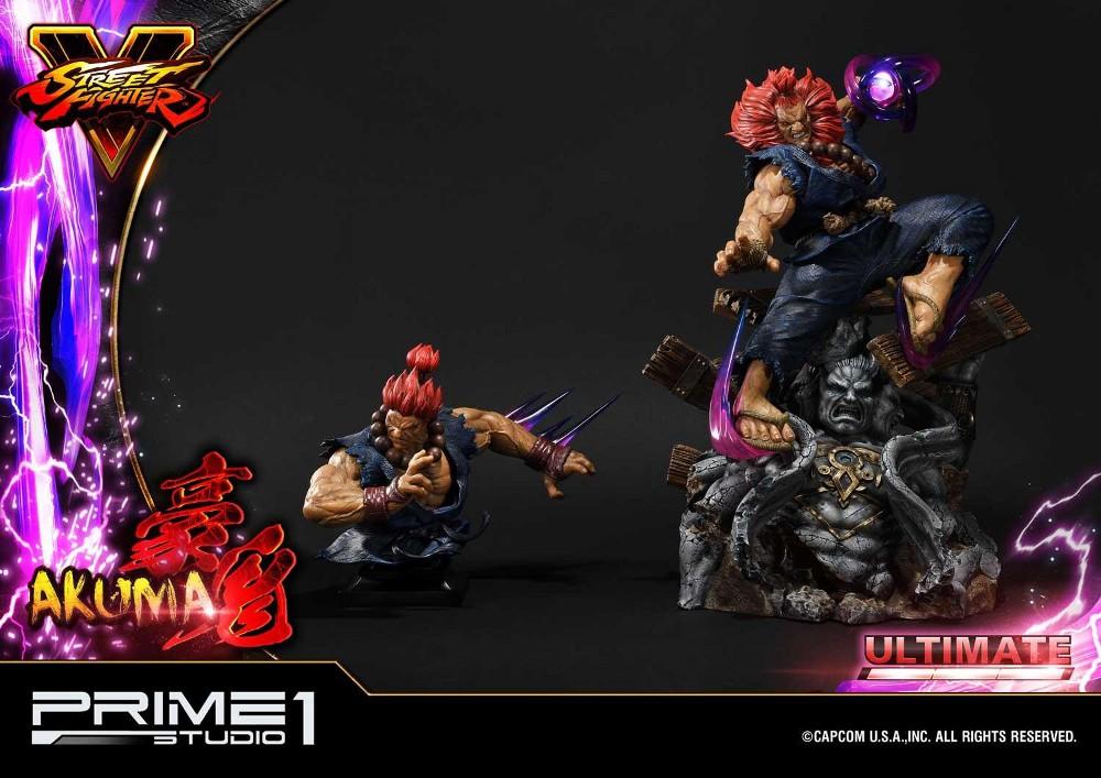 Street Fighter V – Akuma 1/4 scale Statue Street31