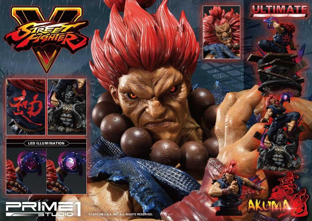 Street Fighter V – Akuma 1/4 scale Statue Street33