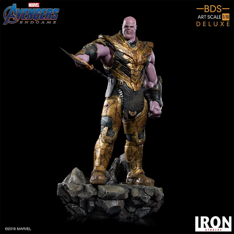 IRON STUDIOS : Avengers: Endgame  - Thanos Black Order Deluxe BDS Art Scale 1/10   Thano118