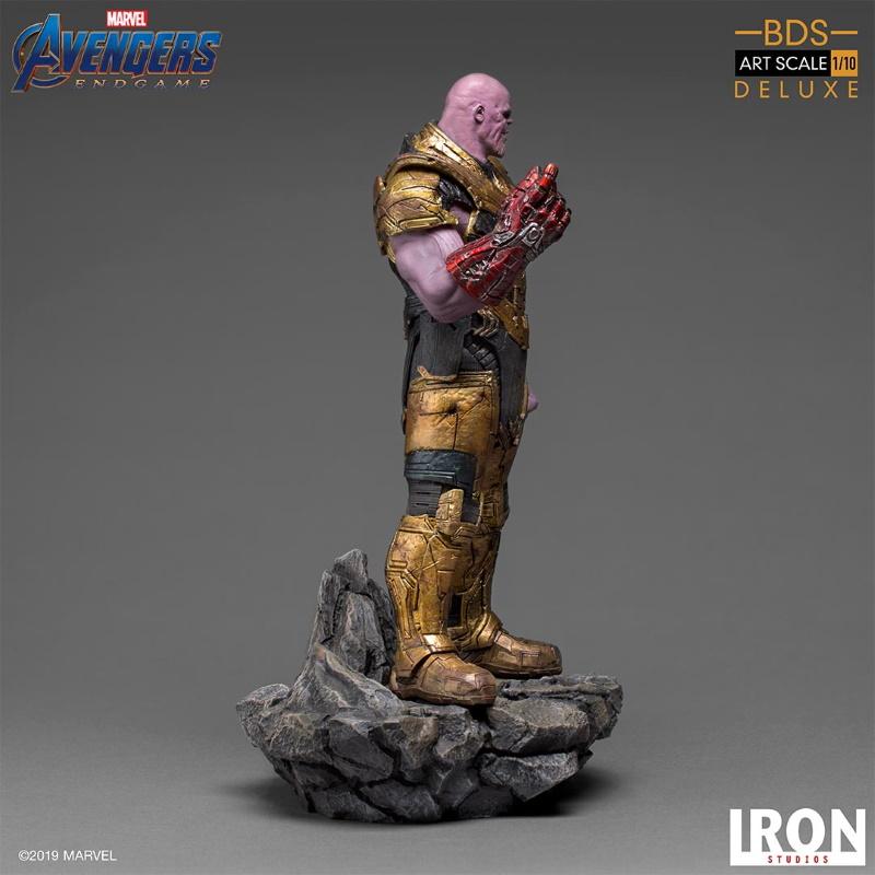 IRON STUDIOS : Avengers: Endgame  - Thanos Black Order Deluxe BDS Art Scale 1/10   Thano122