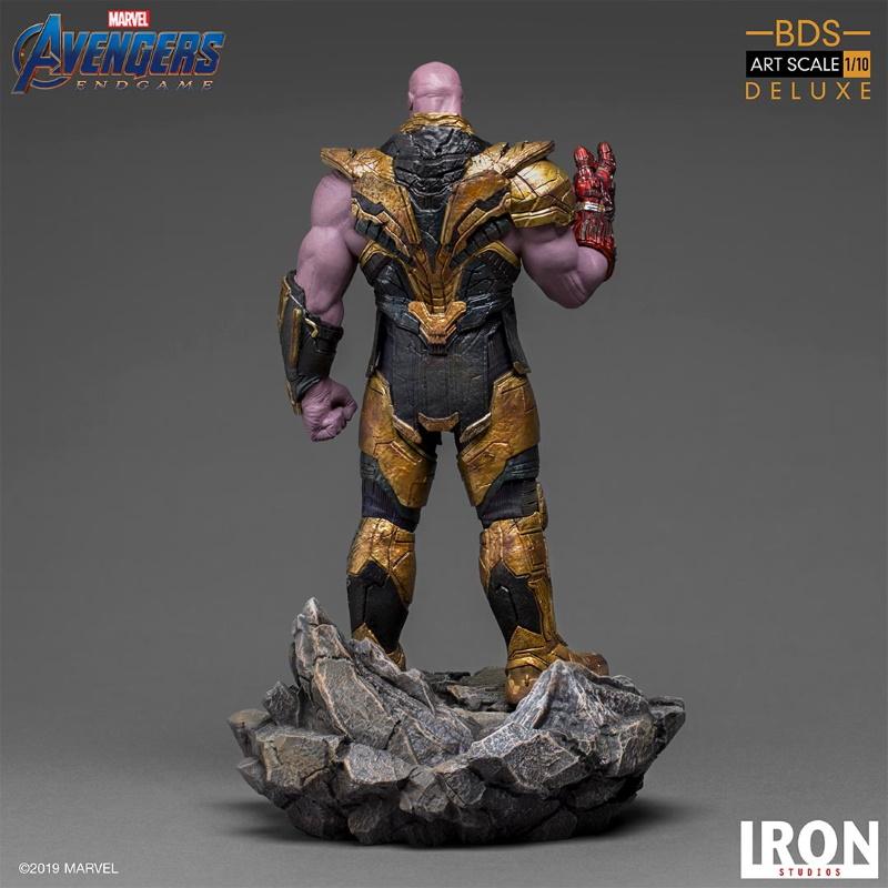 IRON STUDIOS : Avengers: Endgame  - Thanos Black Order Deluxe BDS Art Scale 1/10   Thano123