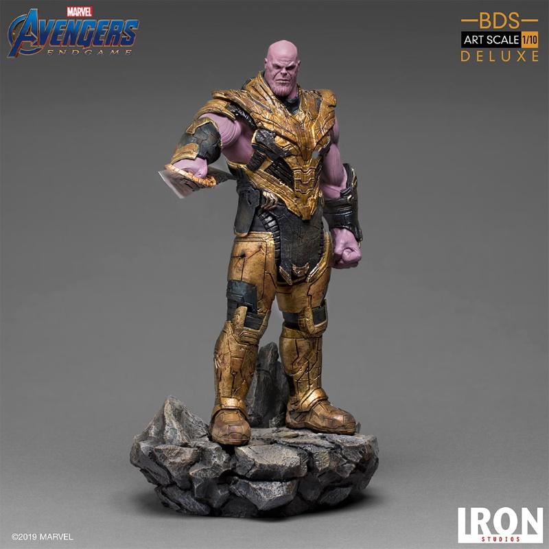 IRON STUDIOS : Avengers: Endgame  - Thanos Black Order Deluxe BDS Art Scale 1/10   Thano125