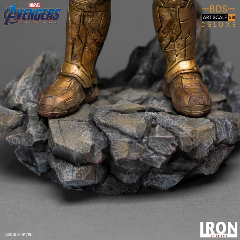 IRON STUDIOS : Avengers: Endgame  - Thanos Black Order Deluxe BDS Art Scale 1/10   Thano129