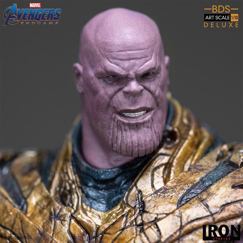 IRON STUDIOS : Avengers: Endgame  - Thanos Black Order Deluxe BDS Art Scale 1/10   Thano132