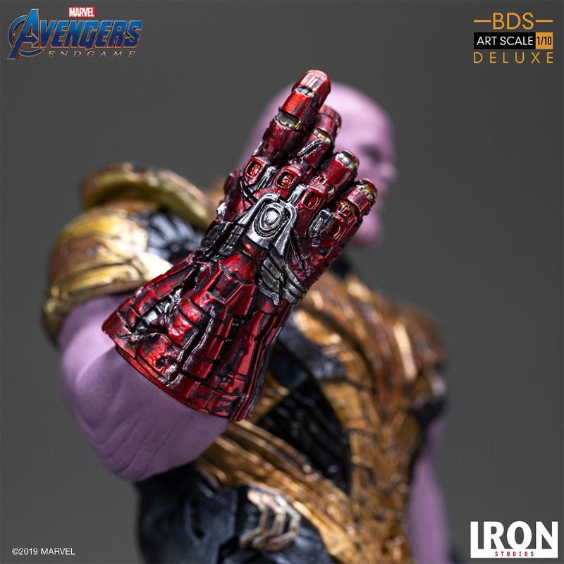 IRON STUDIOS : Avengers: Endgame  - Thanos Black Order Deluxe BDS Art Scale 1/10   Thano133