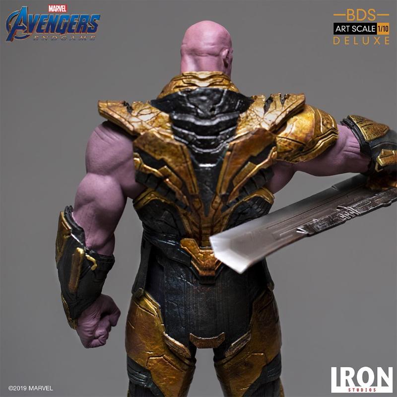 IRON STUDIOS : Avengers: Endgame  - Thanos Black Order Deluxe BDS Art Scale 1/10   Thano134