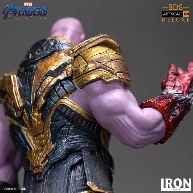 IRON STUDIOS : Avengers: Endgame  - Thanos Black Order Deluxe BDS Art Scale 1/10   Thano135